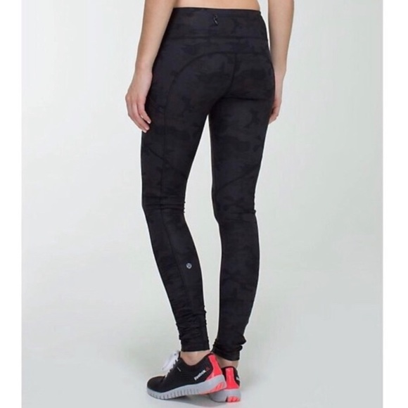 lululemon athletica Pants - Rare Lululemon Speed Tight Black Camo